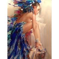 Танцьорка в синьо