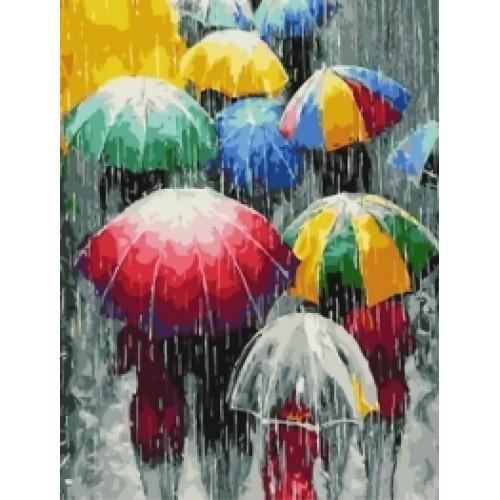Разноцветни чадъри 1
