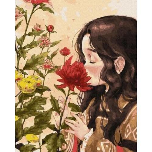 Момиче цвете