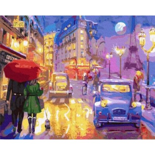 Вечерен Париж
