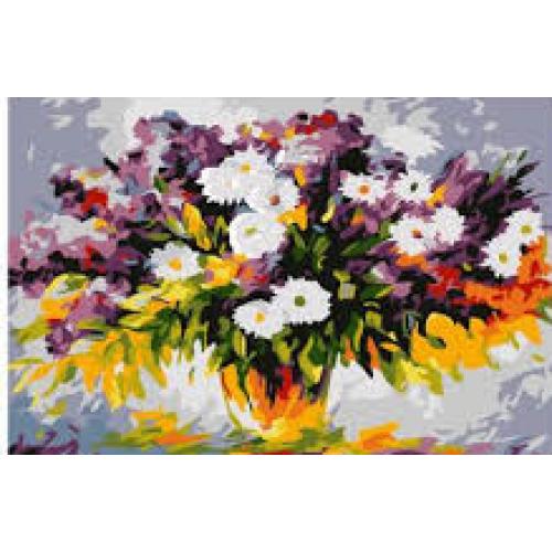 Слънчеви цветя - (20х30см)