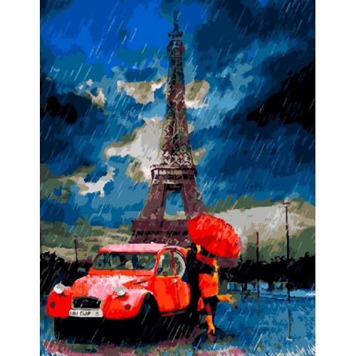 Дъждовен Париж