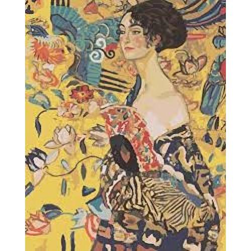 Дамата с ветрилото-Густав Климт